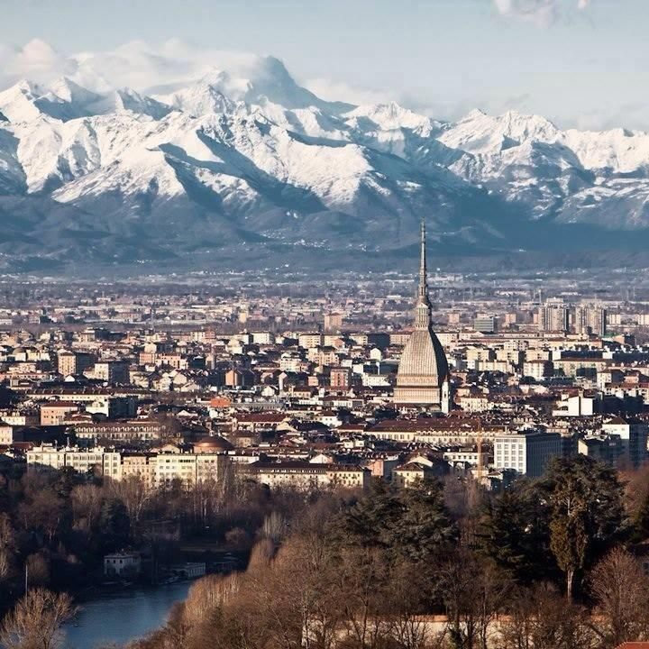 Turin and the mountains...
