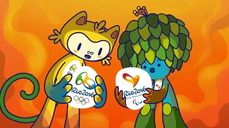Conheça os mascotes Vinicius e Tom - Meet the mascots | Rio 2016 - YouTube
