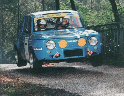 It flies! Renault 8 Gordini (1965)