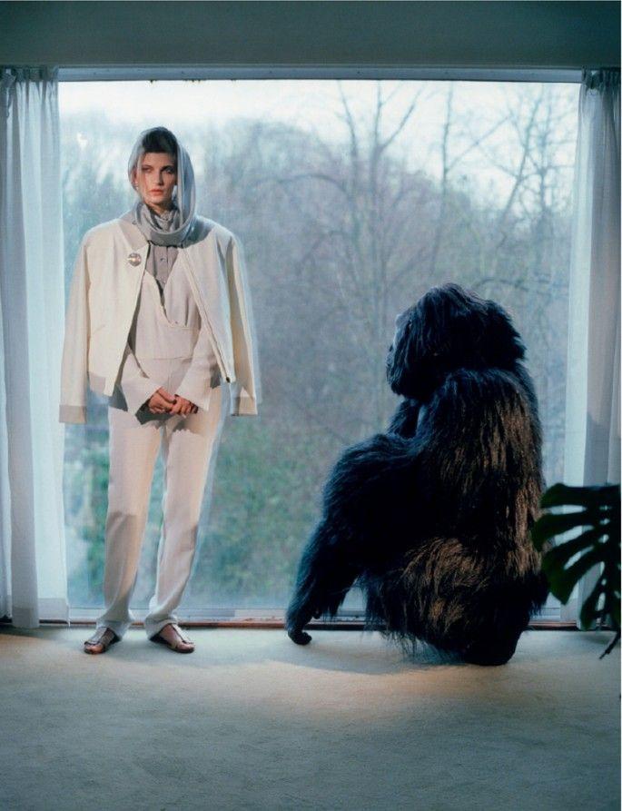 Valerija Kelava by Robi Rodriguez for Pop, S/S 2012