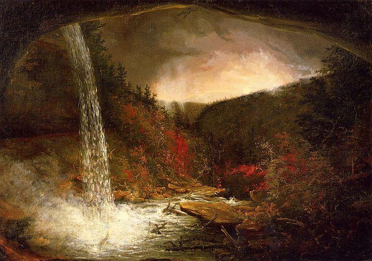 Thomas Cole - Kaaterskill Falls (1826)
