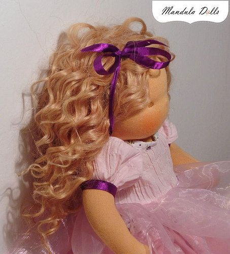 fairy doll with wefts hair