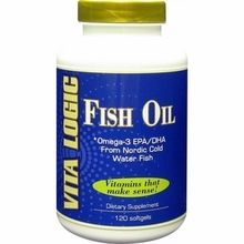 Vita Logic Fish Oil 120 Softgels is concentrated in beneficial Omega 3 fatty acids, specifically eicosapentaenoic acid EPA and docosahexaenoic acid (DHA) at a ...