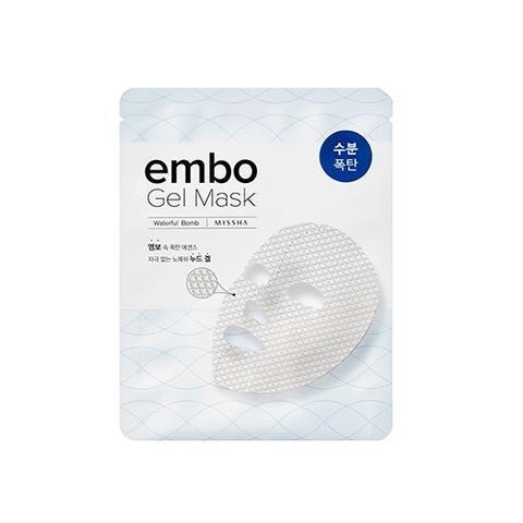 [MISSHA] embo Gel Mask- Waterful Bomb (5 PCS)