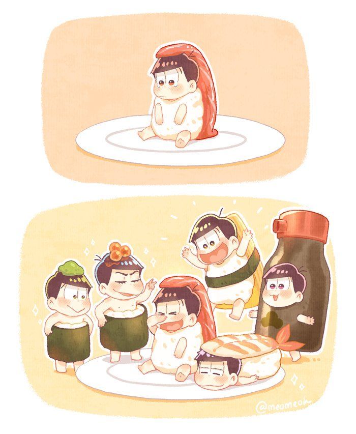 Be a happy sushi
