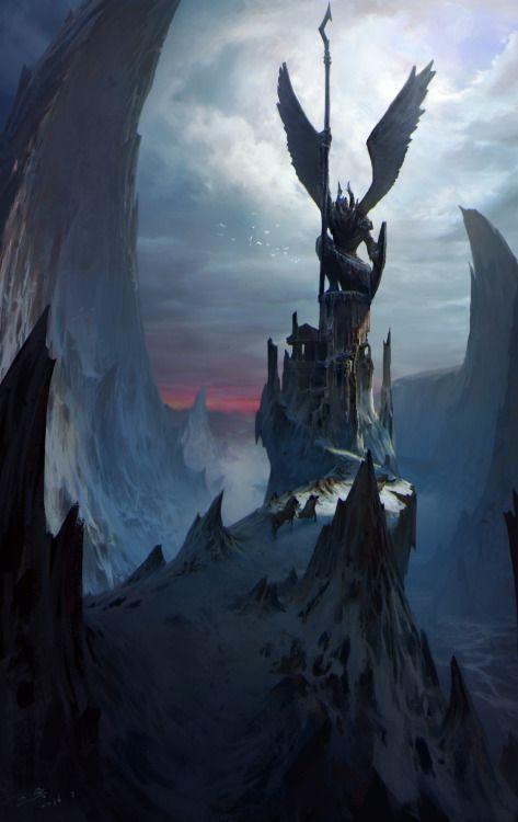 Call by Hao Yan (Fantasy Art Watch)
