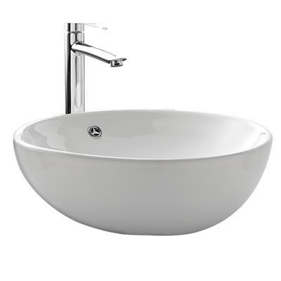 Vasque à poser ronde STERENN en céramique