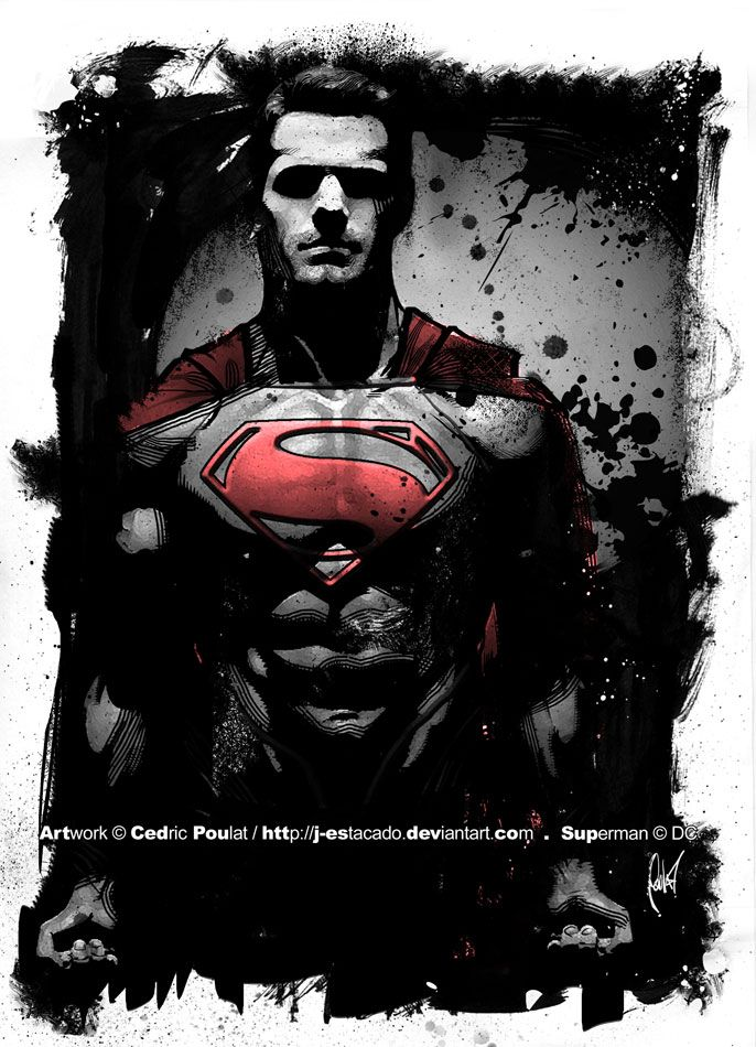 Superman by Cédric Poulat