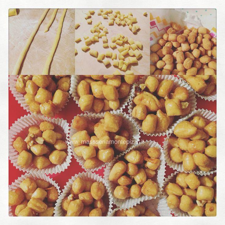 La Cicerchiata - dolce tipico di Carnevale!  #italiaintavola #moliseatavola