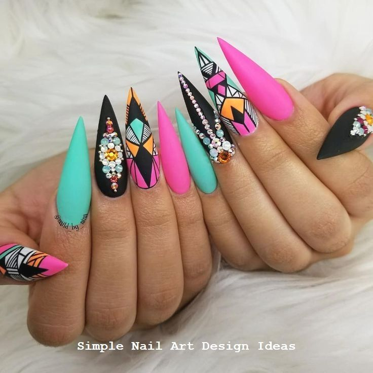 2019 Trendy Nailarts 1 With Images Swag Nails