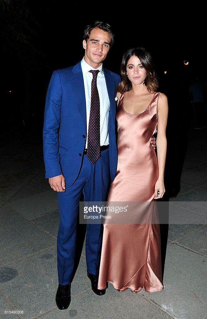 Actress Martina Stoessel and model Pepe Barroso Jr are seen going to Barroso's house after attending '40 Principales Awards' 2016 Nominees Dinner on October 5, 2016 in Madrid, Spain.