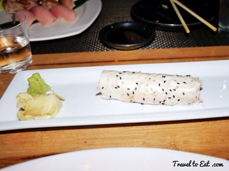 Baked Crab Handroll. Sushi Roku. Santa Monica, California