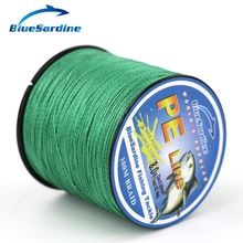 BlueSardine 300M Multifilament Fishing Line Braided Super Strong 4 Strands Braid PE Fishing Wires 12LB - 90LB //Price: $US $6.80 & FREE Shipping //     #hashtag2