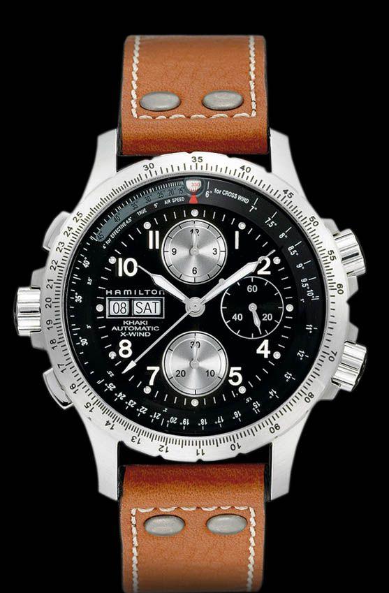 Hamilton X-Wind Auto Chrono #wristwatch #watch https://www.etsy.com/shop/GAALco