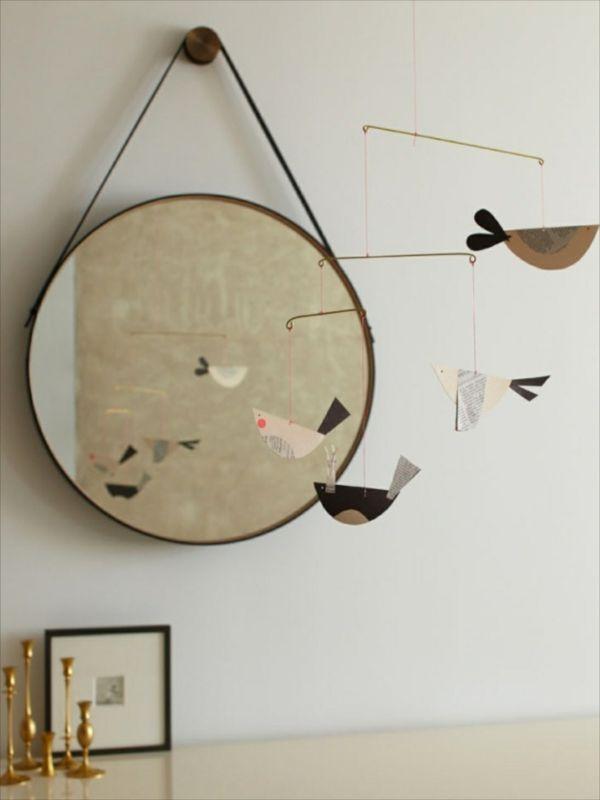 Miroir Bois Ikea : Miroirs Ronds sur Pinterest Miroirs Muraux, Miroirs et Chaise De