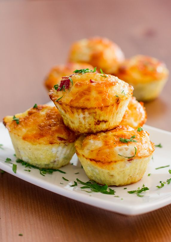Egg Muffins with Bell Peppers and Salami | Recipe | Egg muffins ...