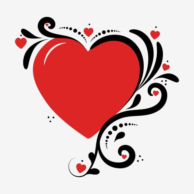 Heart Love With Ornaments Vintage Heart Love Heart Romantic Couple Png And Vector With Transparent Background For Free Download Valentines Art Romantic Couples Free Vector Graphics
