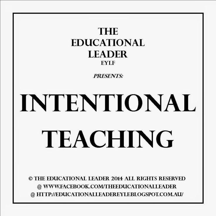 The Educational Leader EYLF