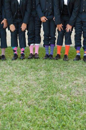 Colourful Groom Wedding Socks Brides Of Adelaide Magazine