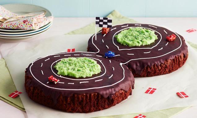 Opskriften på Bilbane er ideel til en børnefødselsdag.