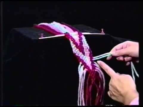 The Virtual Museum of Métis History and Culture_ VIDÉO Advanced Métis Finger Weaving