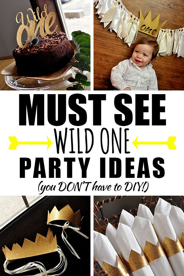 Perfect Idea for a 1st Birthday!  And no DIY required!  Let the Wild Rumpus Start. #wildone