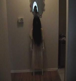 """how to make """"The Ring"""" Creepy Halloween prop"""