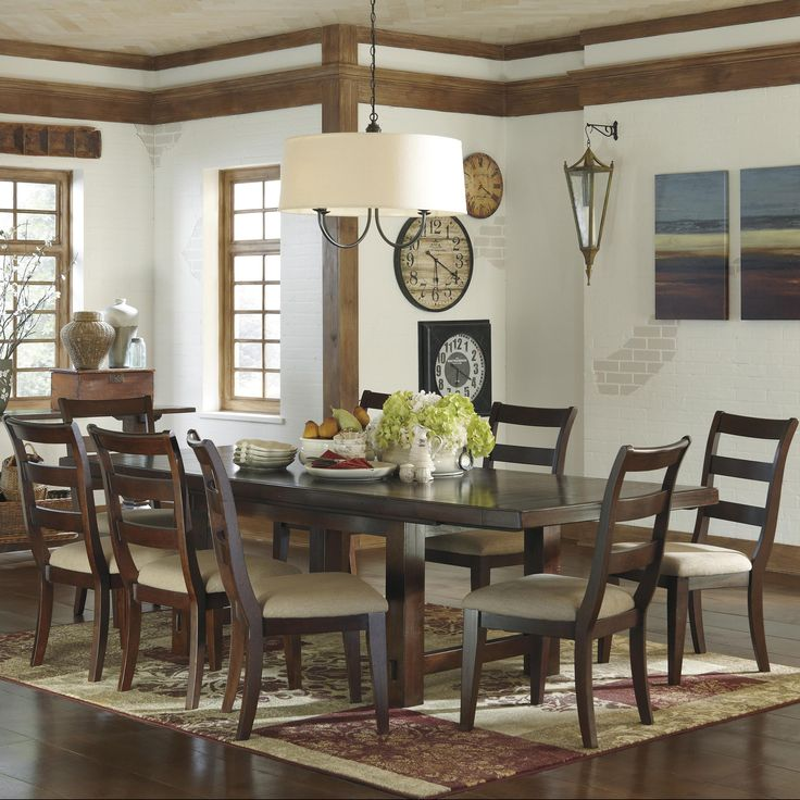 Hindell Park Rectangular Dining Table What We Got Except Add A Bench