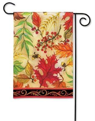 fall garden flags. Blaze Of Glory BreezeArt Fall Garden Flag $11.99 Flags O