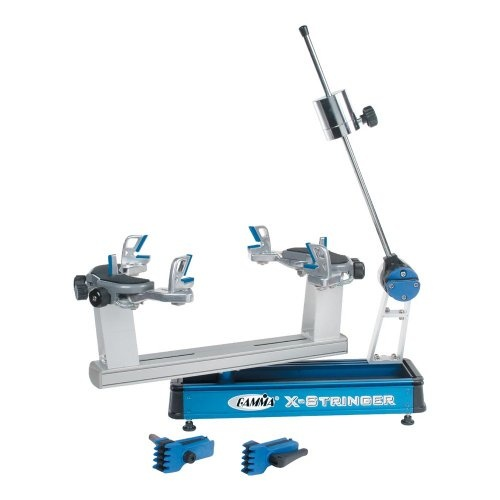 Gamma X-6 Tennis Stringing Machine, Blue/Silver - http://www.closeoutracquets.com/stringing-racquets-strings-free-shipping-stringer/gamma-x-6-tennis-stringing-machine-bluesilver/