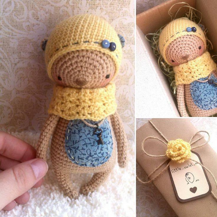 Доброй тебе дороги, малыш...   #crochet #amigurumi #вязаниекрючком #вязаныеигрушки #little_owlet_m 800 руб + почтовые расходы