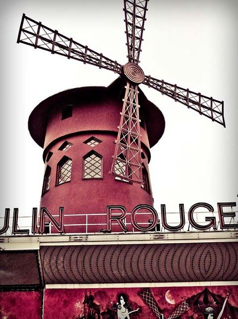 Adding this stop to my bucket list, the Moulin Rouge