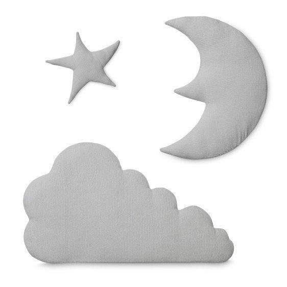 Wall Hanging Moon, Stars and Cloud