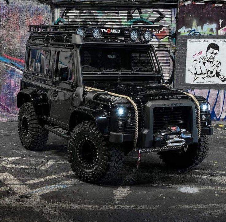 Land Rover Defender 90 Td4 Sw Se customized Twisted ICON Tweaked Automotive Defender 90