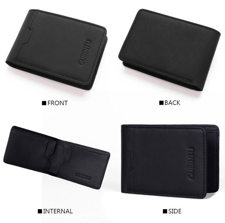 Slim Leather ID/Credit Card Holder