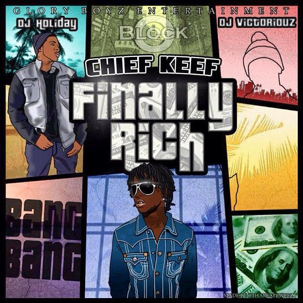 Chief Keef Finally Rich Wallpaper- usadress