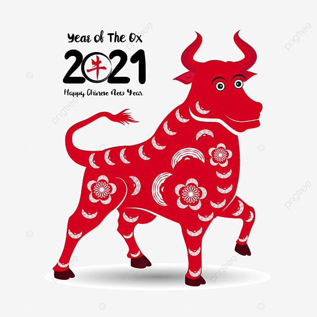 Ox Buffalo Apricot Blossom Apricot Asia Blossom Cultural Decor Eating Isolated Lunar N In 2021 Happy Chinese New Year Chinese New Year Greeting Chinese New Year Images