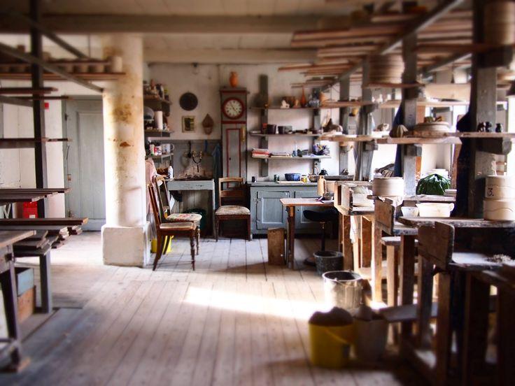 Ceramik Museum workshop in Ronne