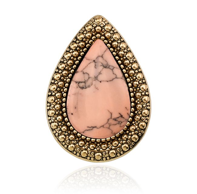 SAMANTHA WILLS - BOHEMIAN BARDOT RING - SORBET