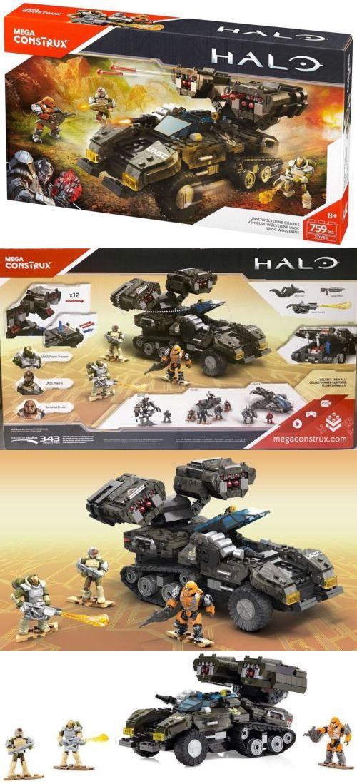 Mega Bloks Building Toys 52338: Halo Mega Bloks Construx