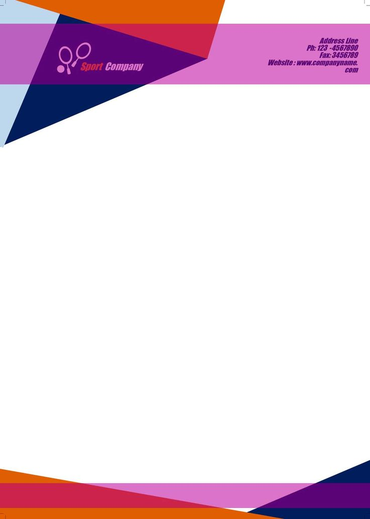 company letterhead sample pdf safepcfo free template word format download