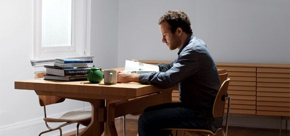 The way I work - Jason Fried, the founder of 37signals  - Truly love his work ethic. We don't need to sit behind a desk for 8 straight hours, we don't even need to be in the office to deliver quality or get the job done. People need freedom to breath.