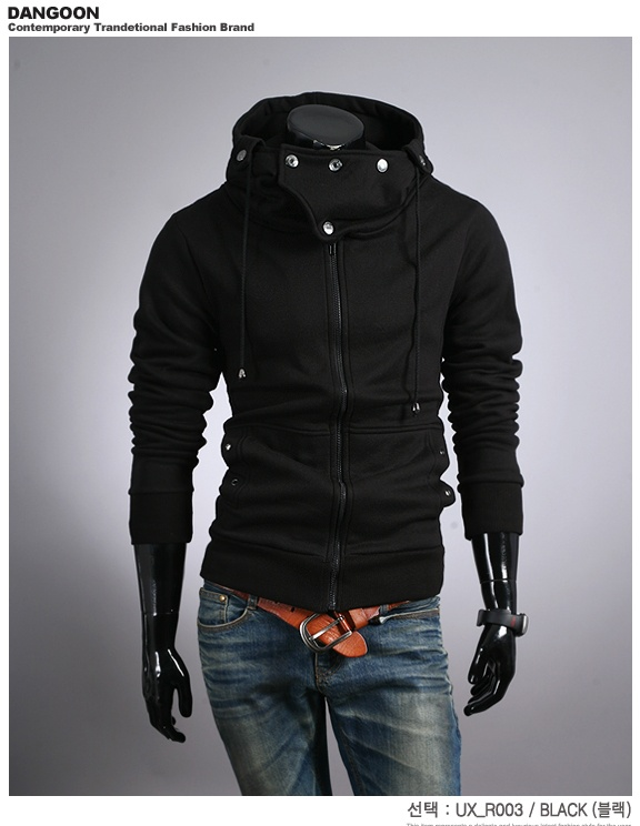 DANGOON, FLEECE LINED ZIP HOODIE