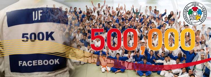 International Judo Federation reaches 500,000 Facebook fans