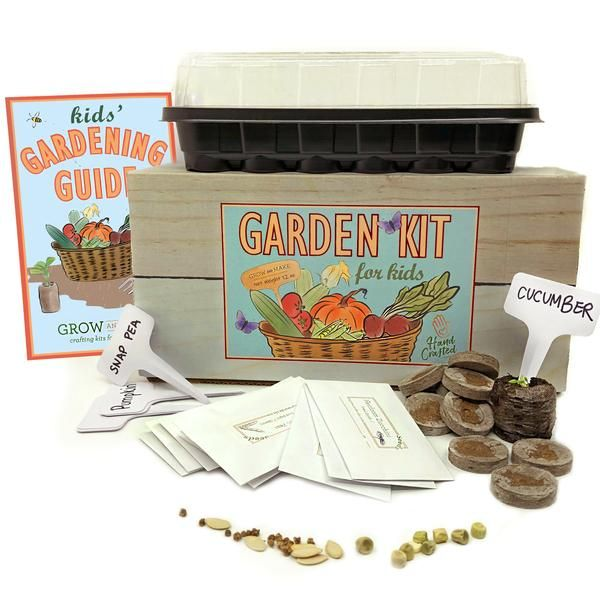 Diy Garden Kit For Kids In 2020 With Images Kits For Kids
