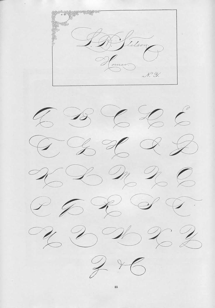 Best A  Script Images On   Penmanship Hand