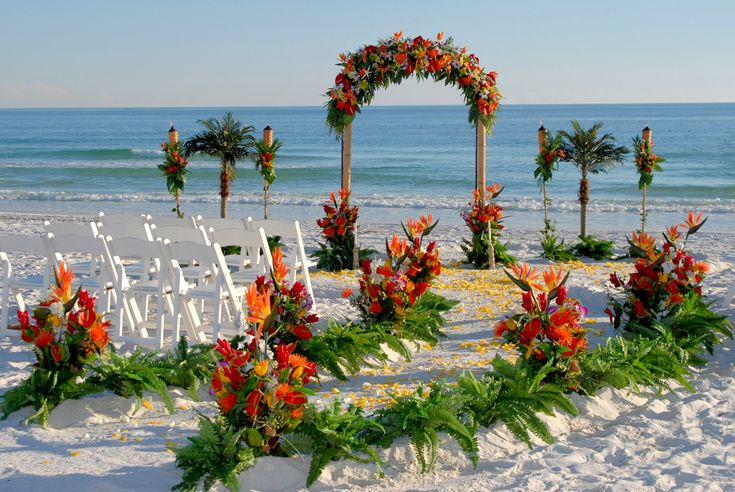 Barefoot Weddings Florida Beach Wedding Specialists Georgia Alabama Mississippi And