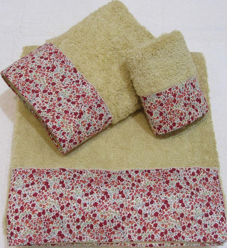 17 mejores ideas sobre toallas de mano en pinterest - Cuales son las mejores toallas ...