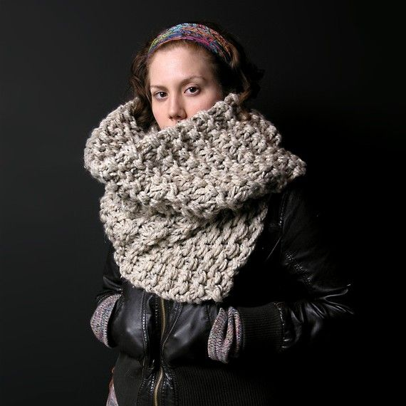 """""""Eat Your Oatmeal"""" Winter Scarf"""