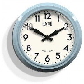 "We do a range of newgate clocks like this 50's ""Electric"" Wall Clock 37cm - Newgate GWL44KBL - Available in 5 different colours"